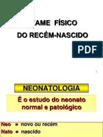 EXAME FÍSICO RN PARA 2010 PARA IMPRIMIR
