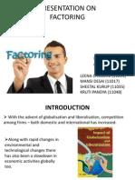 Presentation on Factoring