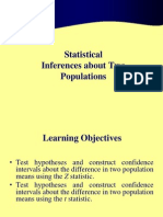 Statistical Inference Two Pops 1