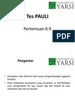 Psikodiagnostik VI P 6 9