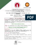 Programación oficial XIII Encuentro Iberoamericano de Cementerios Patrimoniales Rosario 2012