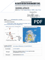 NDRRMC Update on Swb No.11 for Ts Ofel as of 25 Oct12, 11am
