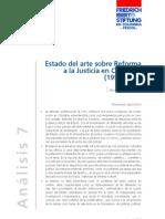 Estado Del Arte Sobre La Reforma a La Justicia en Colombia