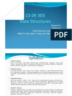 M1 Data Structures