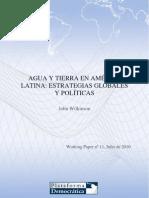 Agua y Tierra en America Latina Ok