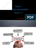 Strategic Management - A