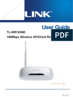 TL-WR743ND V2 User Guide