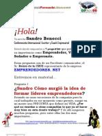 Sandro Benecci Consejos Poderosos Para Empresarios Emprendedores Visionarios