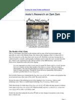 ZamZam Water by Dr. Emoto