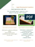 Cajas Presentacion Cosmeticos