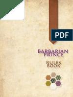 Barbarian Prince Rulebook
