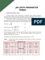 Mengolah Data Parameter Tanah.0