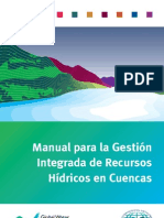 Manual para la Gestión de recursos hidrico en cuenca