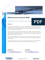 Effective print security for SMBs