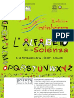 Brochure Festivalscienza 2012