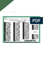 Gabarito Simulado_enem Parana