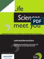 btS Bayreuth Lehrstuhlbroschüre 2011