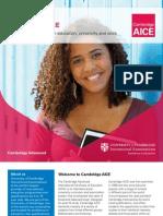 AICE Brochure 2012