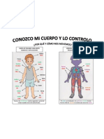Parts of the body (Primer ciclo de Primaria)