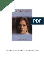 Biography U G Krishnamurti