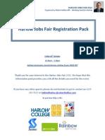 Harlow Jobs Fair Registration Pack - 26th October