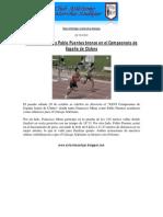05. Francisco Mena y Pablo Puentes bronce en el Campeonato de España de Clubes