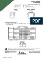 Datasheet SN74HC04 - Hex Inversor