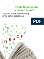 BASF REACH Tips for Safety Data Sheets