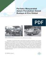6. Perilaku Masyarakat Dalam Perubahan Sosial Budaya Di Era Global