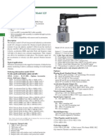 Senzor de Vibratie VS_125.01