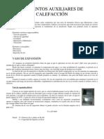 Apuntes sobre elementos básicos en una instalación de calefación