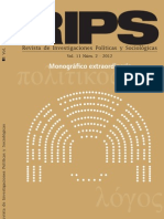 Rivista RIPS Monografico Imaginarios Sociales