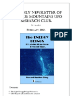 The Blue Mountains UFO Research Club Newsletter - February 2012