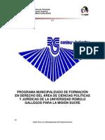 Programa Municipalizado de Formacion 2006 (Vigente)