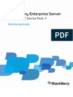 Monitoring Guide Blackberry Server for Exchange
