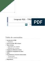 Tema 3 - Lenguaje SQL T-SQL 2008