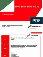 Roadmap Pertamina Dalam Bisnis Migas v3 -Presentasi