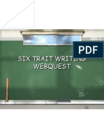 webquest 6trait