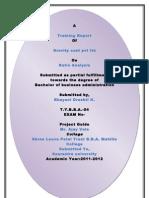 Drashti Certificate