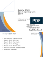 Supply Chain Benchmarking With Scor