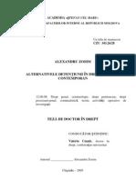 Alternativele Detentiunii in Dreptul Penal Contemporan [PDF]