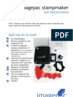 Spanish instructions for imagepac stampmaker