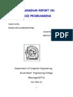 Report of Cgi