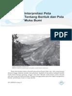 9. Interprestasi Peta Tentang Bentuk Dan Pola Muka Bumi