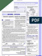 DISOLUCIÓN, LIQUIDACIÓN Y EXTINCIÓN DE SOCIEDADES (TERCERA Y ÚLTIMA PARTE)