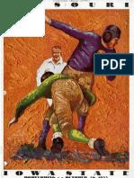 1933 Homecoming Football Program