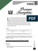 ORACIONES ELIMINADAS - ejemplos