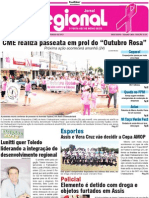 Jornal O Regional 23/10/2012