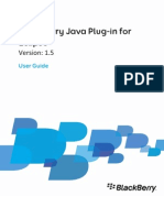BlackBerry Java Plug in for Eclipse Release Notes 1884636 1018081901 001 1.5 US