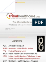 NIHOE ACA PPT_Tribal Small Business Series IV